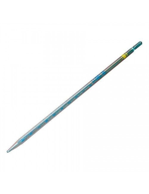 PIPETTE GRADUEE VERRE  2 ML 1/10 ECOULEMENT TOTAL