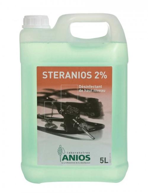 STERANIOS 2% DESINFECTANT P/INSTRUMENTS (4 X 5 LITRES)
