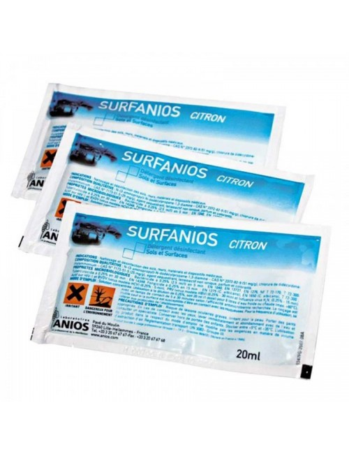 SURFANIOS DECONTAMINATION SOL/SURFACE (500 X 20ML)*