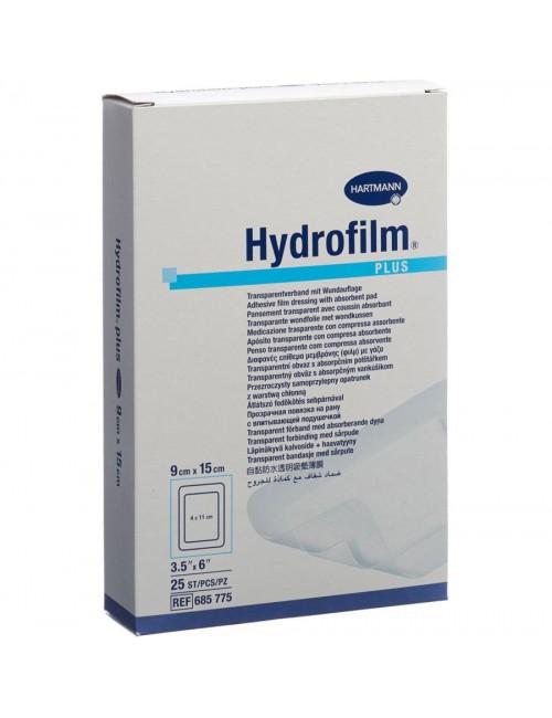 HYDROFILM PANS.ADHESIF STERILE FILM PE+COMP.9X15CM (X 25)