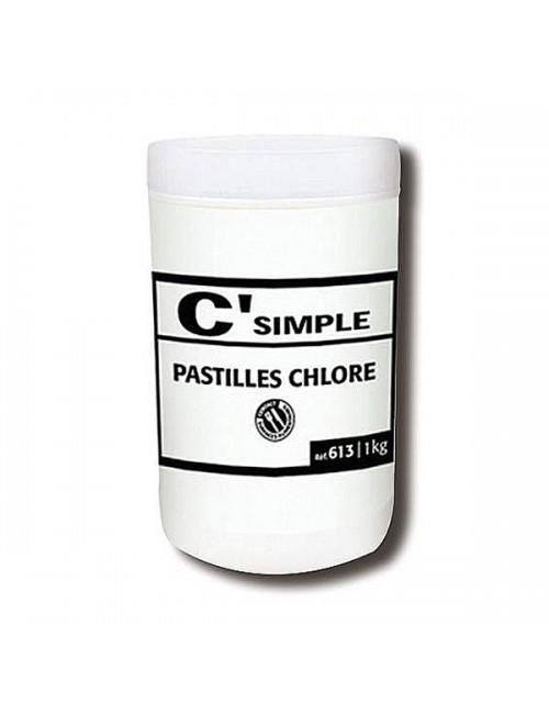 PASTILLES DE CHLORE -  BOITE DE 300*