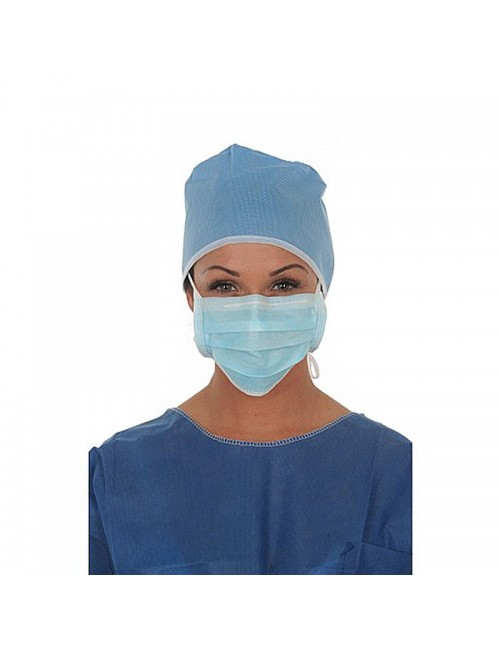 MASQUE CHIRURGIE HAUTE FILTRATION A LANIERES (X 50)
