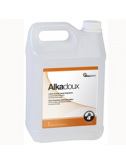 ALKADOUX LAVAGE MAINS HAUTE FREQUENCE BIDON RECHARGE 5 LITRES
