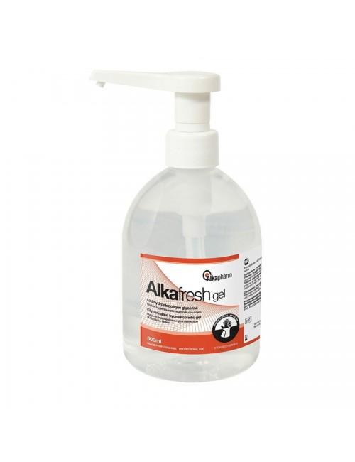 ALKAFRESH GEL HYDRO-ALCOOLIQUE FLACON DE 500 ML POMPE*