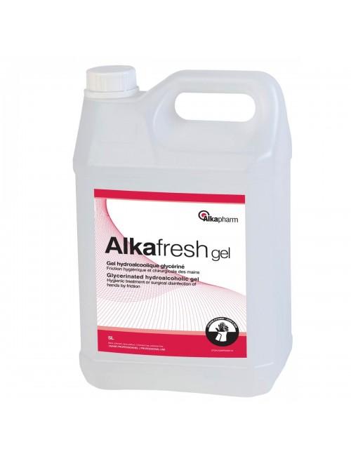 ALKAFRESH GEL HYDRO-ALCOOLIQUE BIDON 5 LITRES (2X5L)*