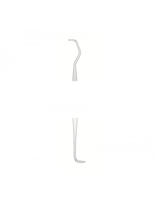 CURETTE DE GOLDMAN FOX 2 DOUBLE EXTREMITE