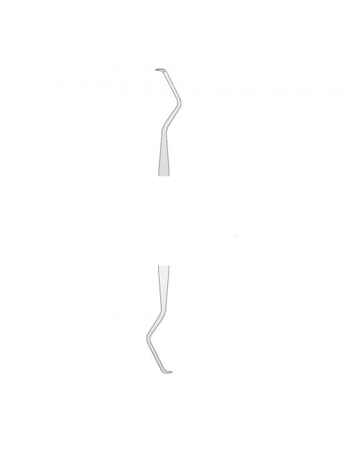CURETTE DE GOLDMAN FOX 3 DOUBLE EXTREMITE