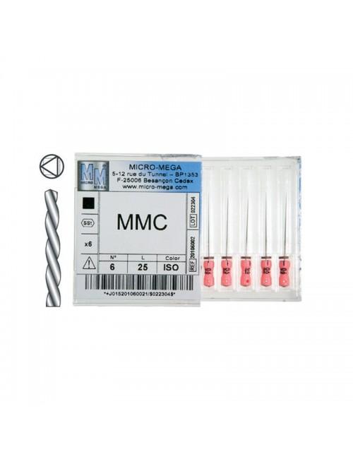 LIMES MMC LG 25 MM ISO 010, BOITE DE 6