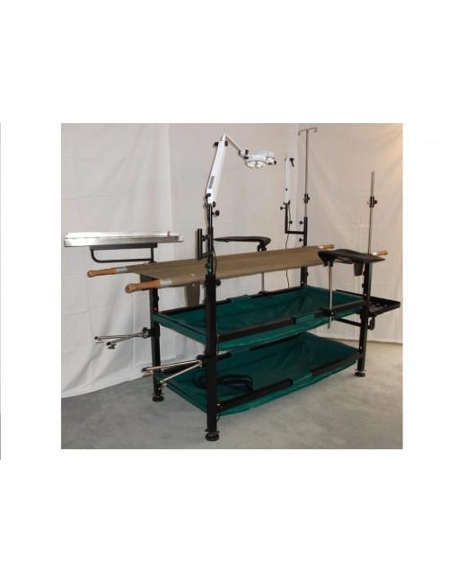 TABLE PORTE BRANCARD D'OPERATION DEMONTABLE
