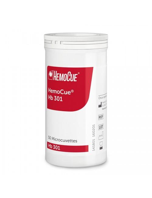 MICROCUVETTES POUR HEMOCUE HB301 (BOITE DE 4 X 50)