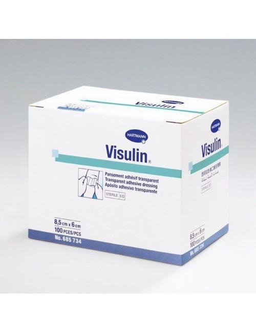 DISCOUNTINUED PANSEMENT ADHESIF STERILE VISULIN 10 X 6 CM (X 100)