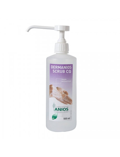 DERMANIOS SCRUB CG SAVON ANTISEPTIQUE - FLACON DE 500ML A/POMPE