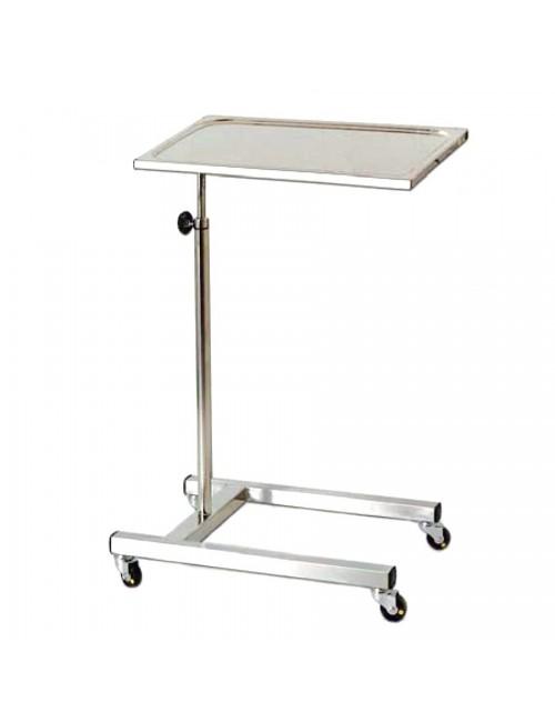 TABLE DE MAYO INOX 600 X 430 MM