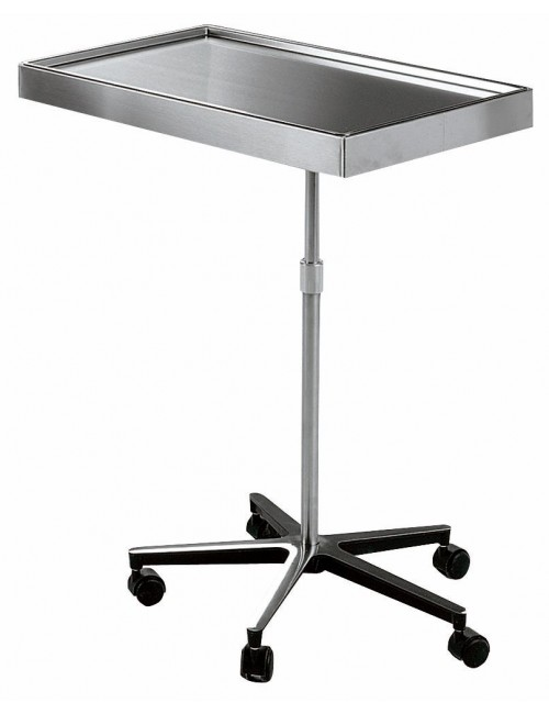 TABLE DE MAYO INOX 700 X 450 MM