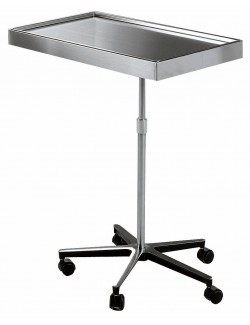 TABLE DE MAYO INOX 700 X 450 MM