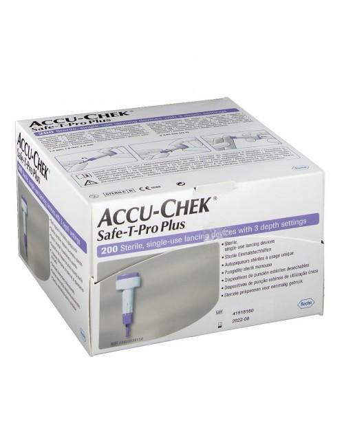 AUTOPIQUEUR UU ACCU-CHEK SAFE-T-PRO PLUS (X 200)