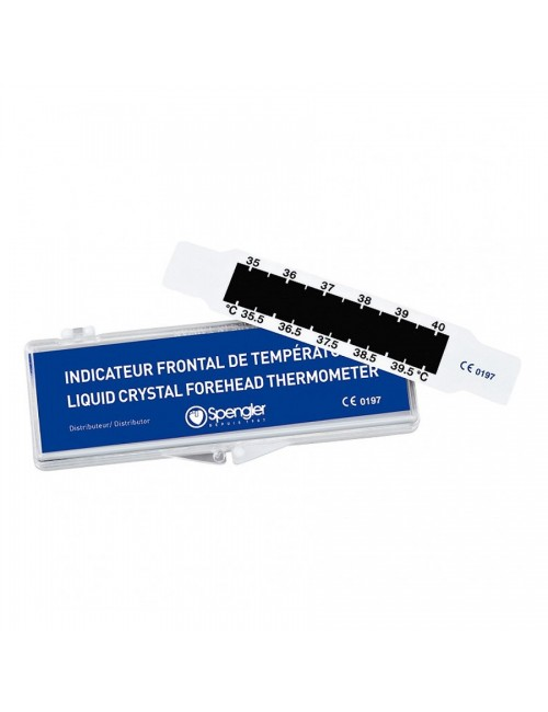 "REVELATEUR TEMPERATURE ""TESTOFRONT"""