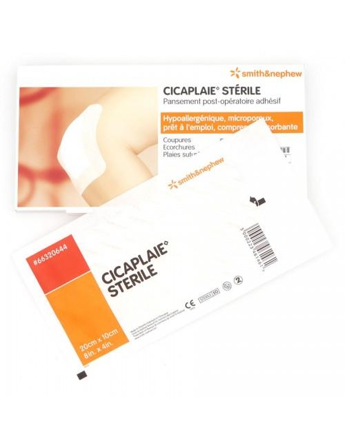 PANSEMENT CICAPLAIE STERILE 20CM X 10CM (BTE 5)